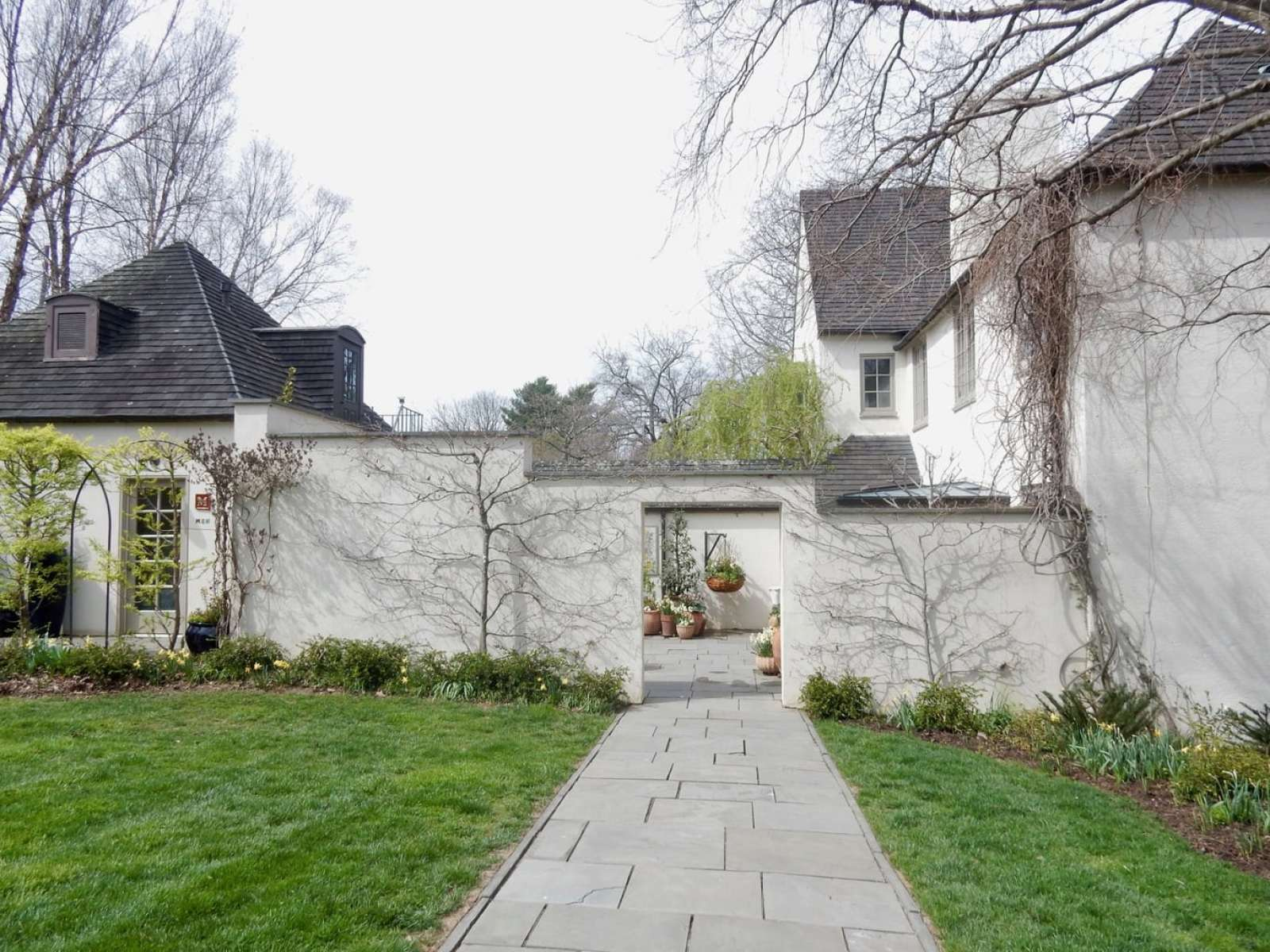 Visitor's Entrance Chanticleer Garden Wayne PA