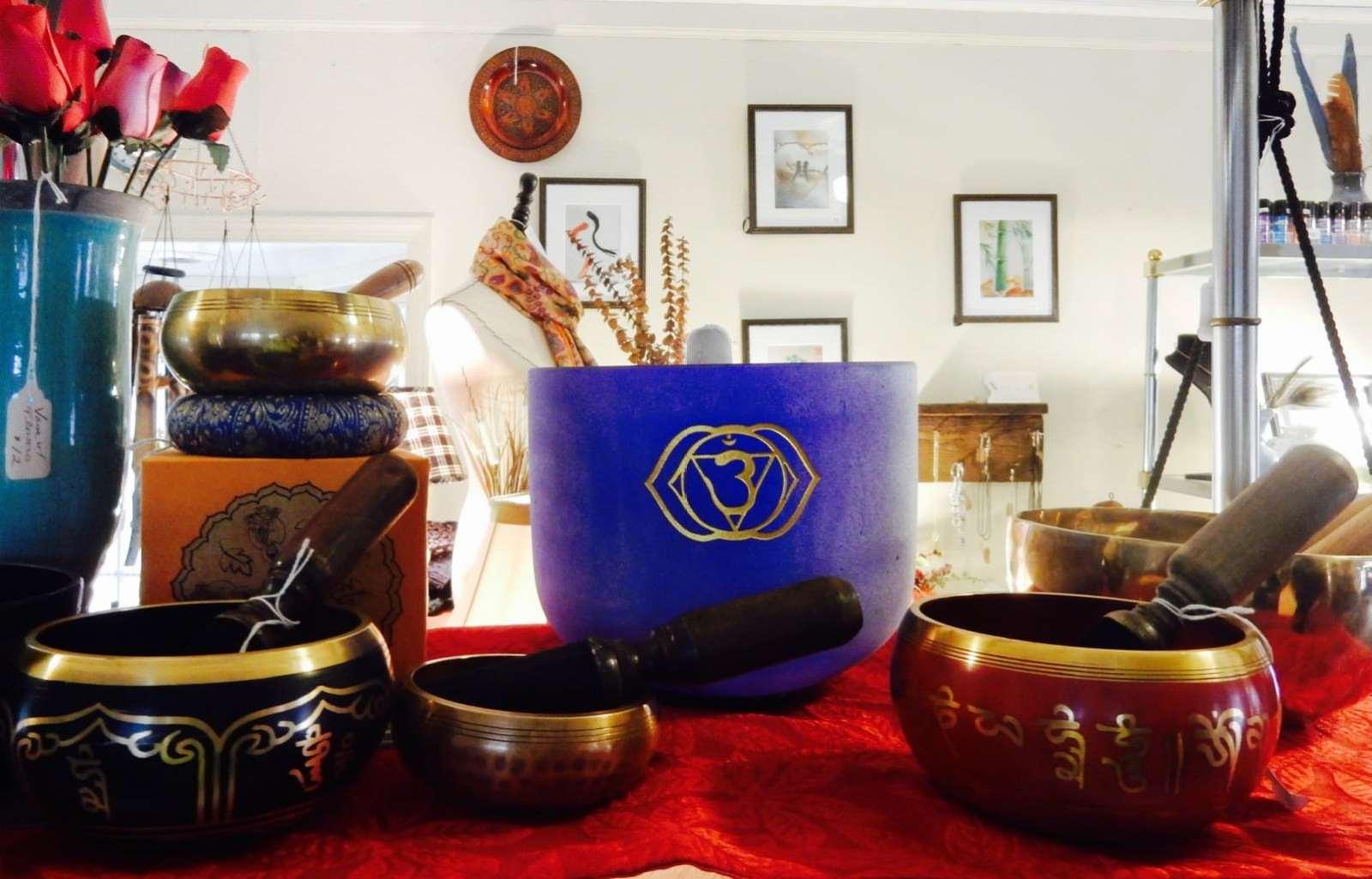 Healing Bowls, Healing Spirit Cafe St. Peter's Village PA