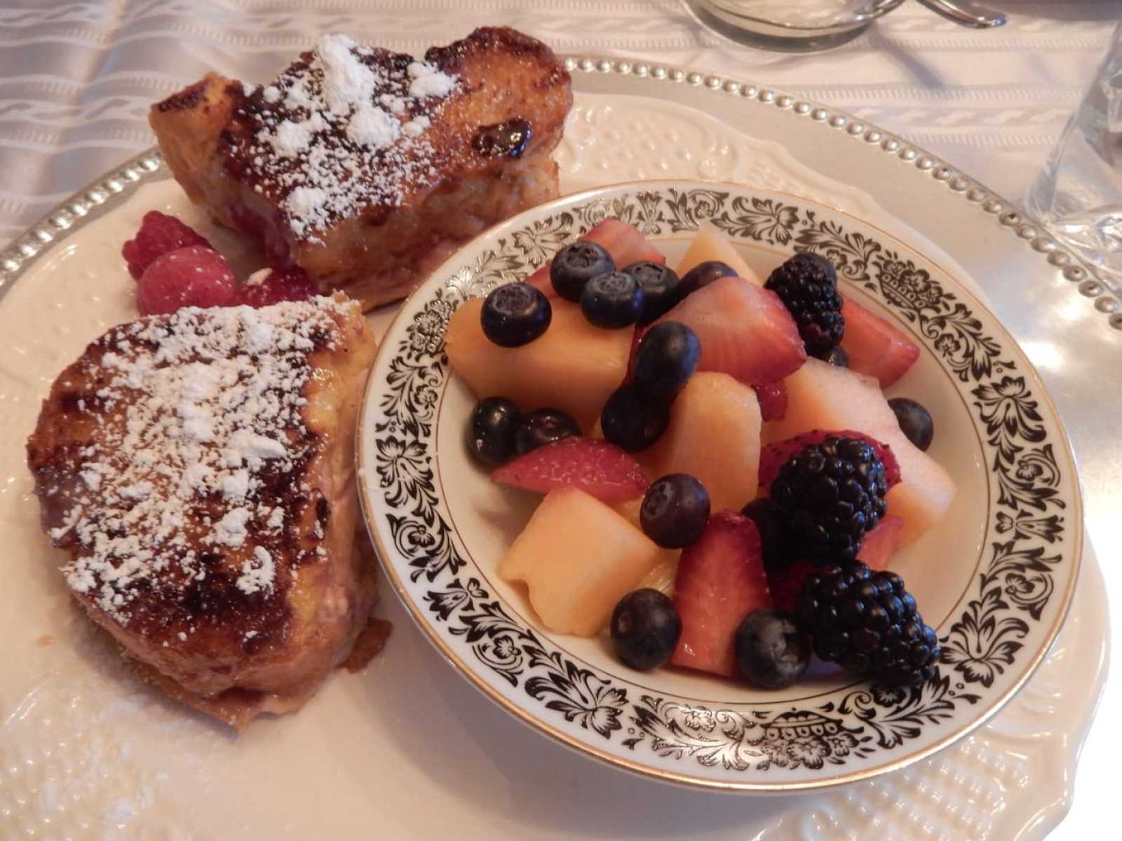 Breakfast at Faunbrook BnB West Chester PA
