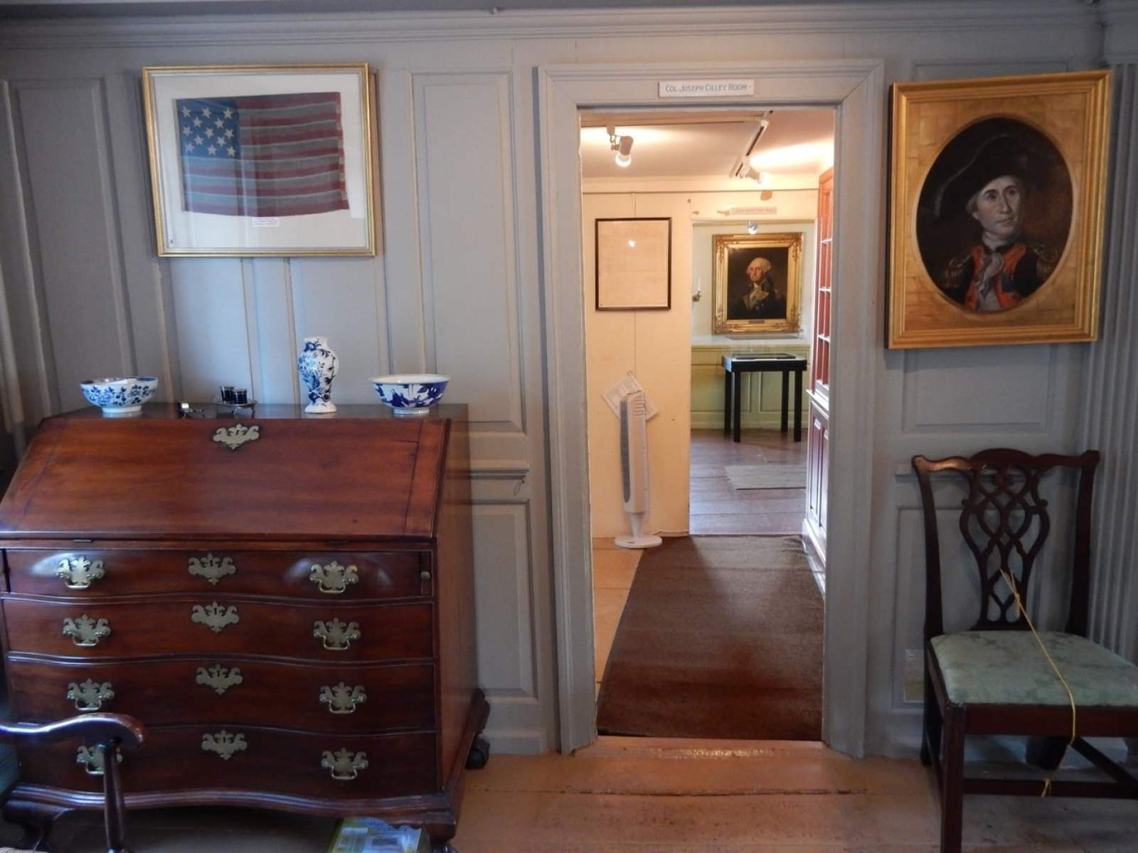 Interior American Independence Museum Exeter NH