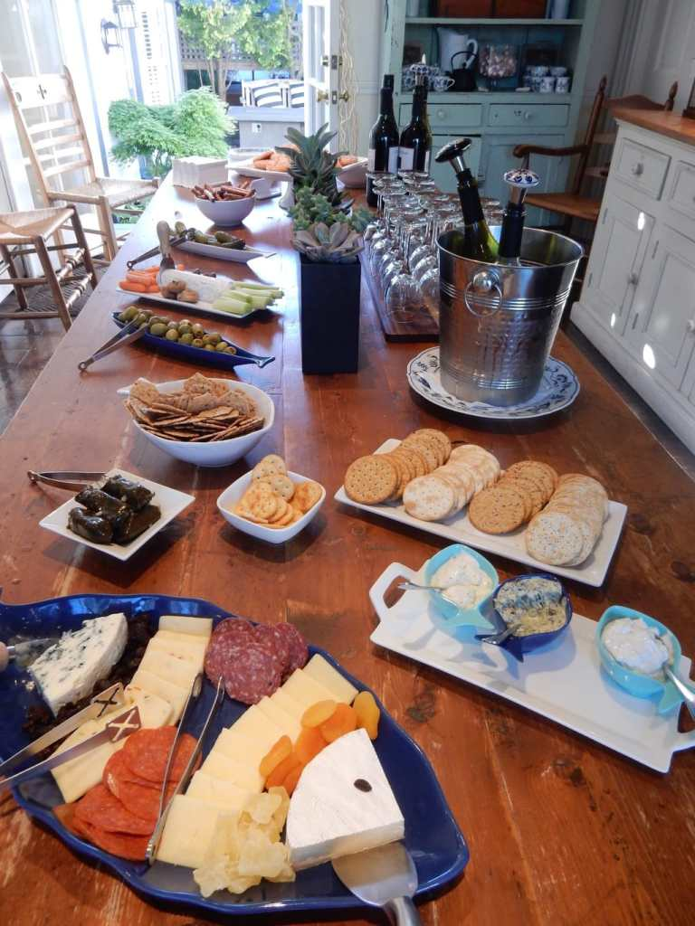 Wine and Nibbles Hour, Carpe Diem Guesthouse Provincetown MA