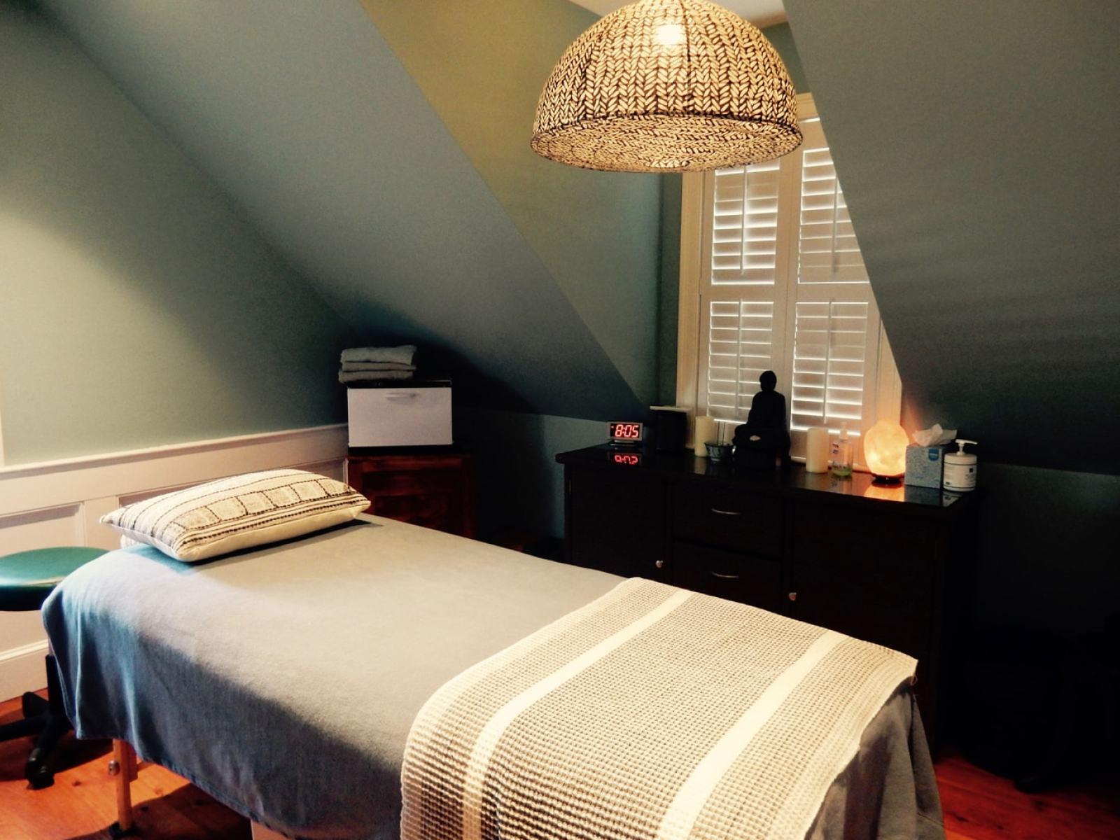 Treatment Room, Carpe Diem Spa, Provincetown MA