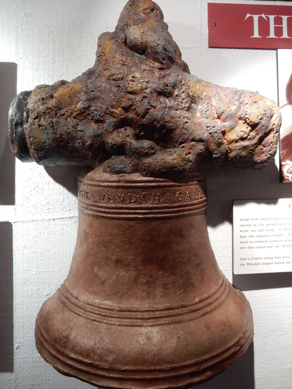 Replica of Whydah Galley Bell, Provincetown MA