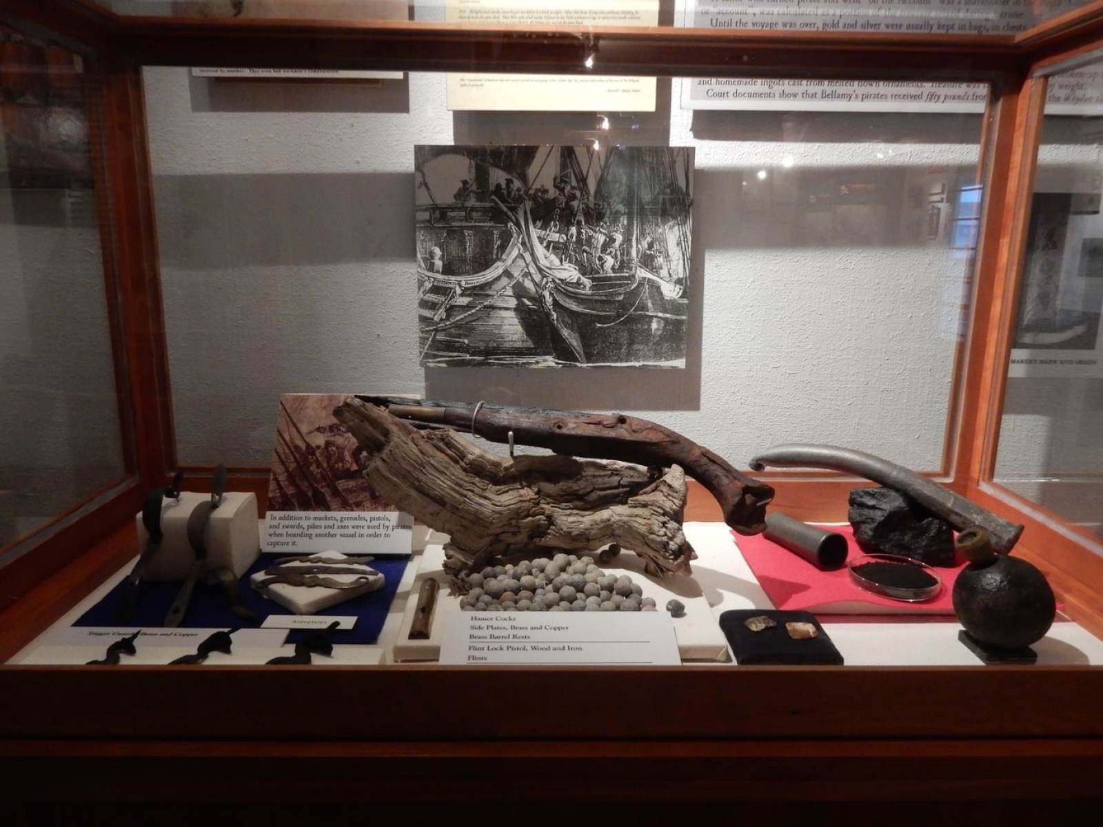Artifacts from Whydah, Provincetown MA