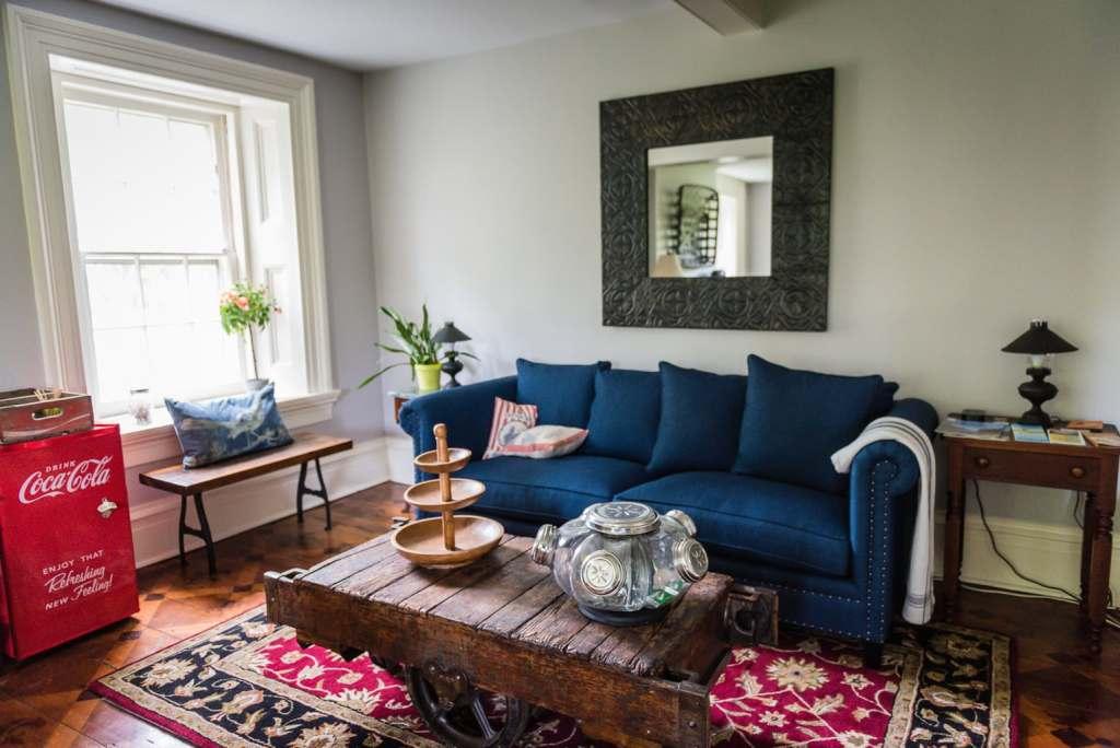 Hudson Valley Rose Living Room