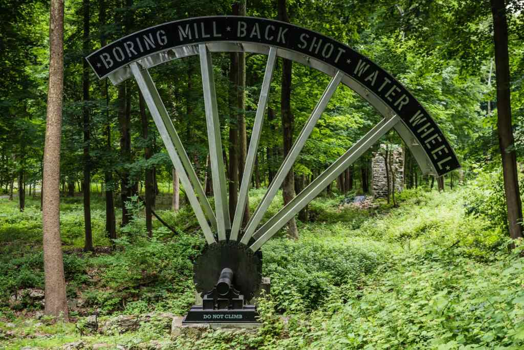Water Wheel - West Point Foundry Preserve - Cold Spring NY