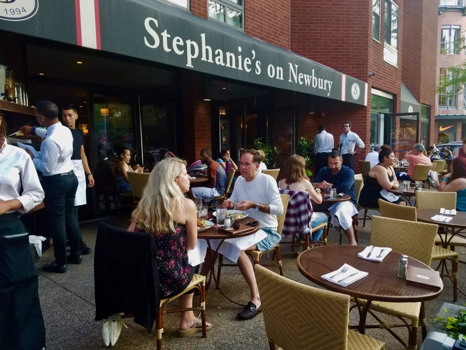 Stephanie's on Newbury Boston