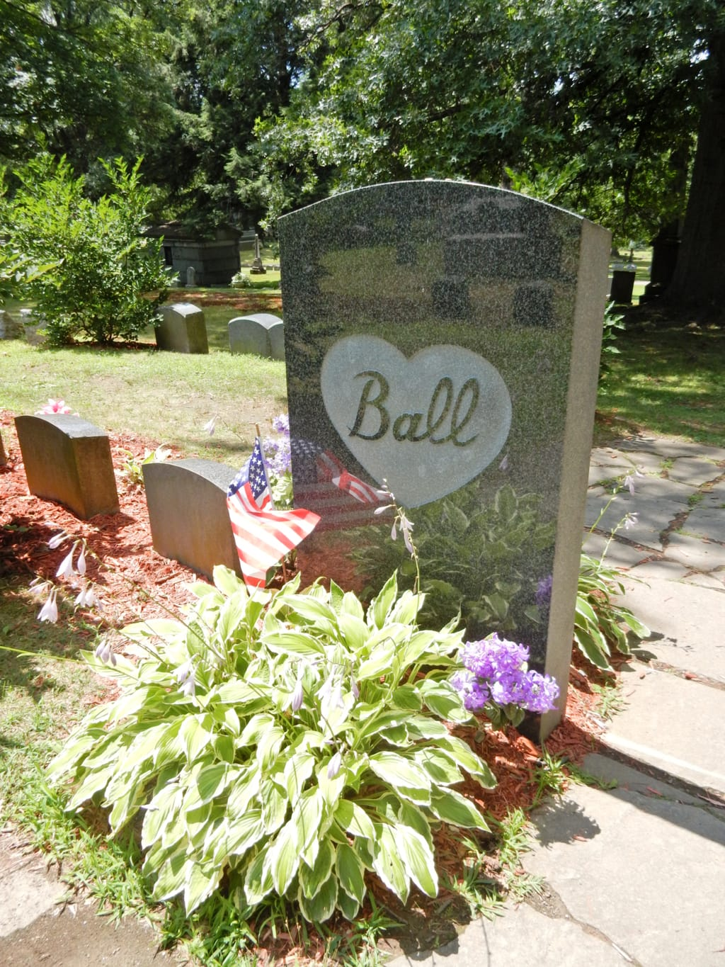 Lucille Ball Grave, Jamestown NY