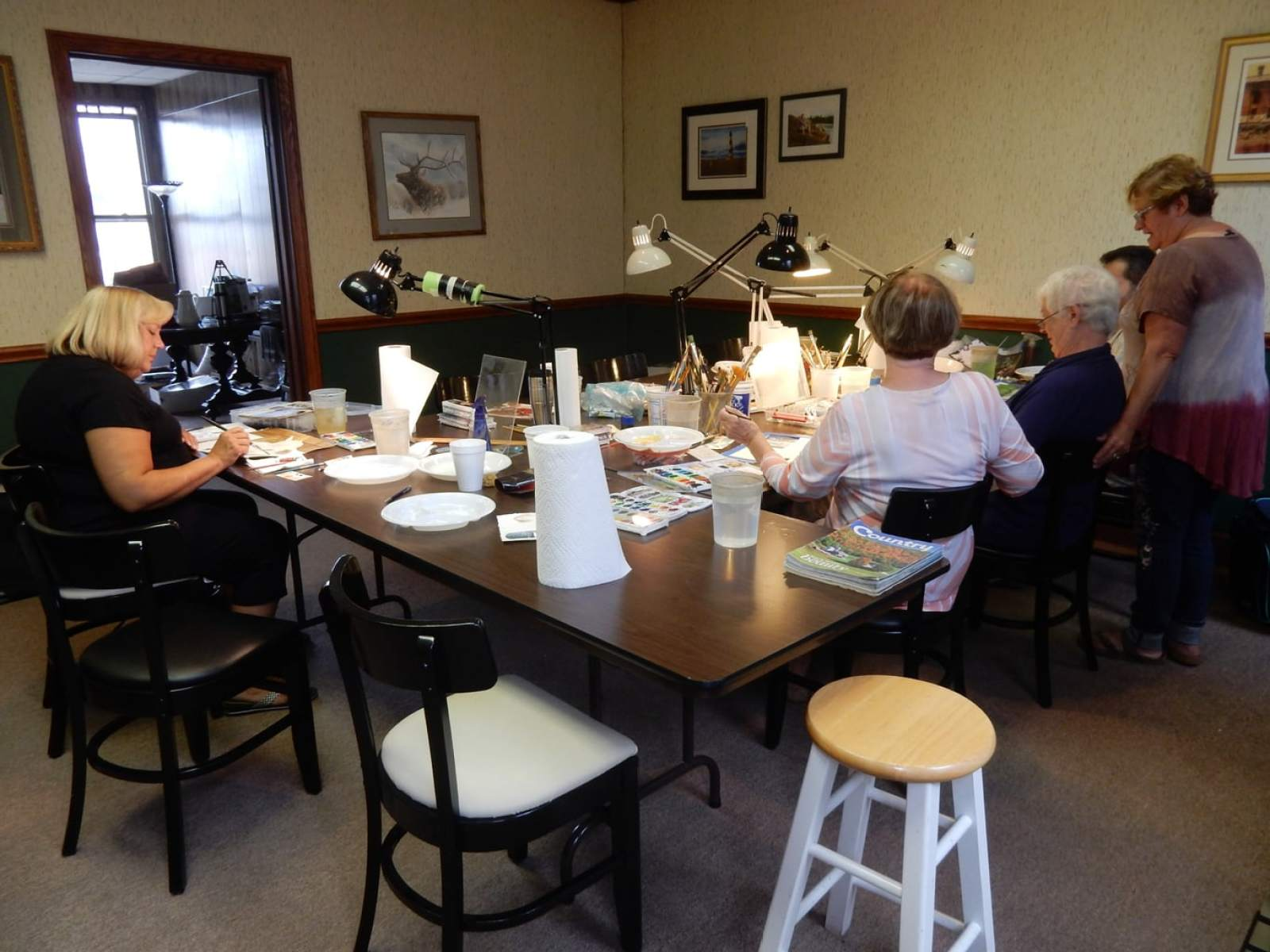 Perry Winkler Watercolor Class, Dubois PA