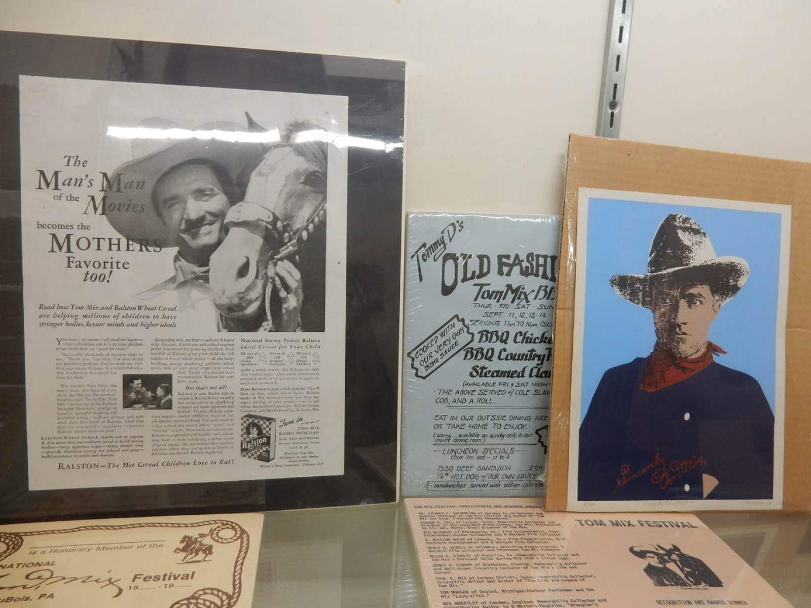 Tom Mix Hometown Dubois Historical Society PA