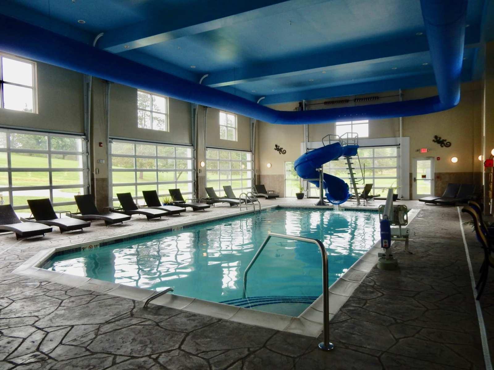 Pool at Comfort Suites Dubois PA