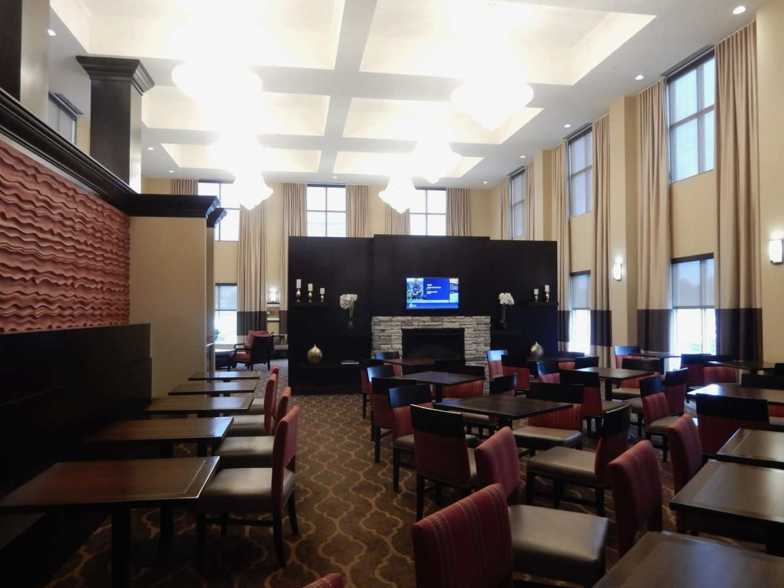 Lobby, Comfort Suites Dubois PA