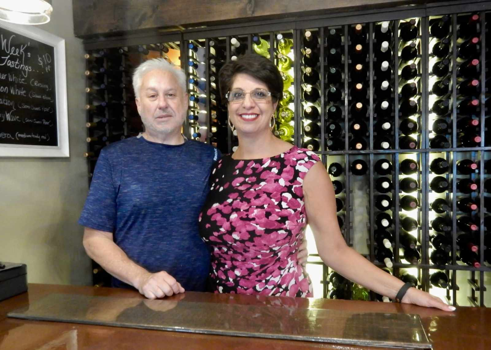 Robert and Raquel Mullaney, owners, 1620 Winery, Plymouth MA