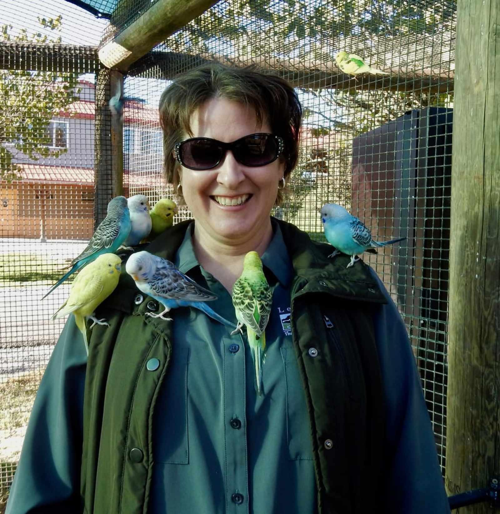 Virginia Safari Park Aviary Natural Bridge VA