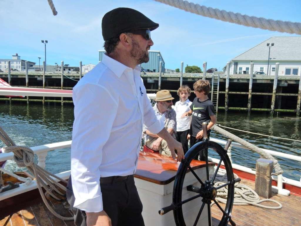 Windjammer Captain Noah Barnes Schooner Stephen Taber