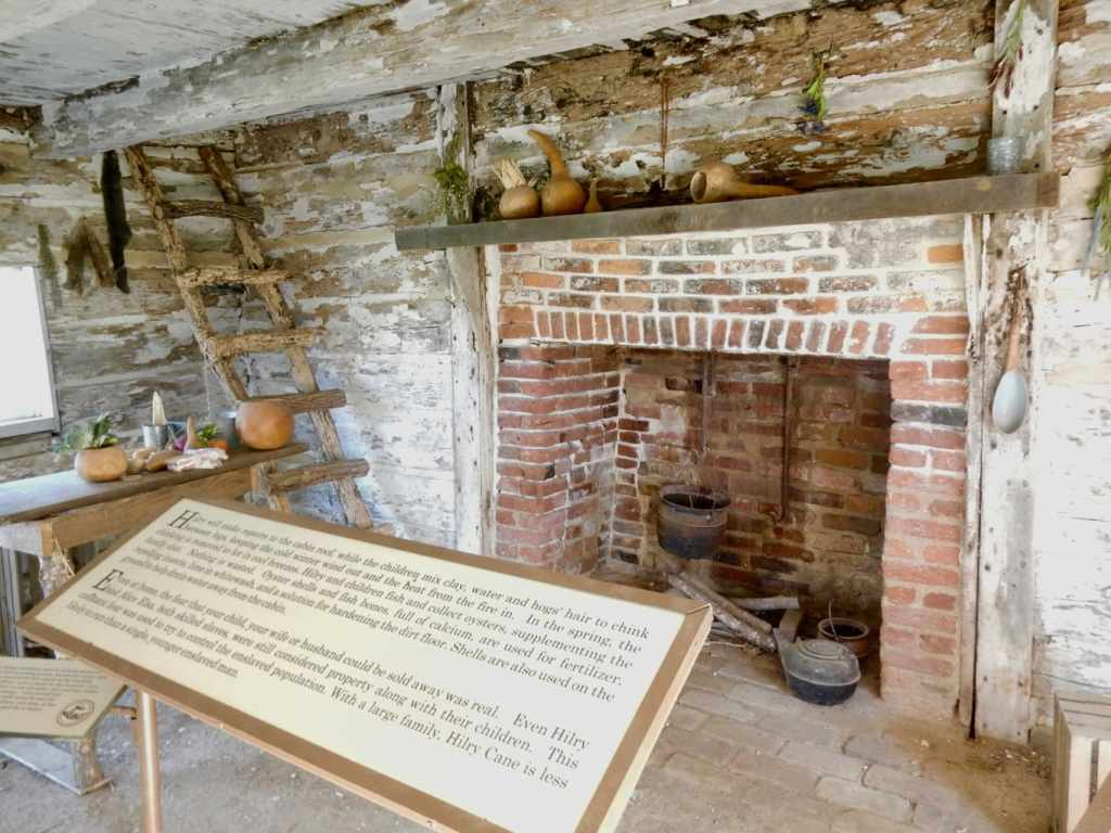 Slave quarters of a Maryland Plantation