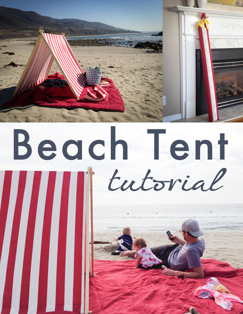 Beach Tent Tutorial