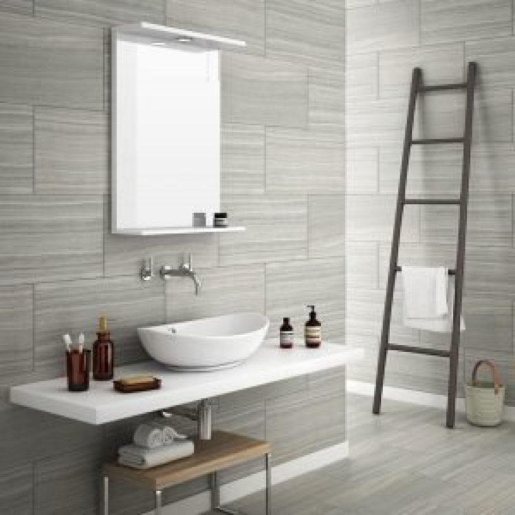 Delight bathroom tile ideas grey #bathroomtileideas #showertile #bathroomtilefloor
