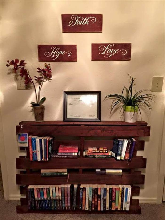 Extraordinary diy book case #diybookshelfpallet #bookshelves #storageideas