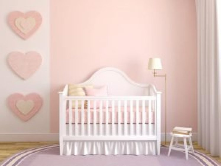 Sensational baby girl nursery color ideas #babygirlroomideas #babygirlnurseryideas #babygirlroom