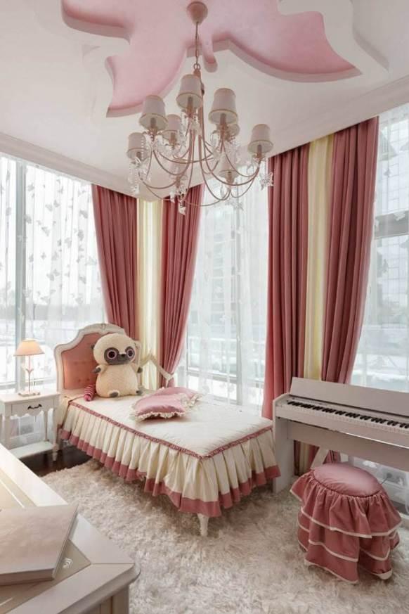 Glorious bedroom curtain rod ideas #bedroomcurtainideas #bedroomcurtaindrapes #windowtreatment
