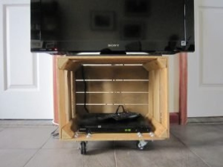 Staggering simple diy tv stand plans #DIYTVStand #TVStandIdeas #WoodenTVStand