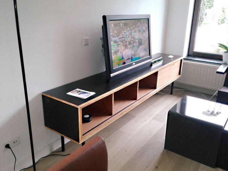 Delight diy tv stand instructions #DIYTVStand #TVStandIdeas #WoodenTVStand