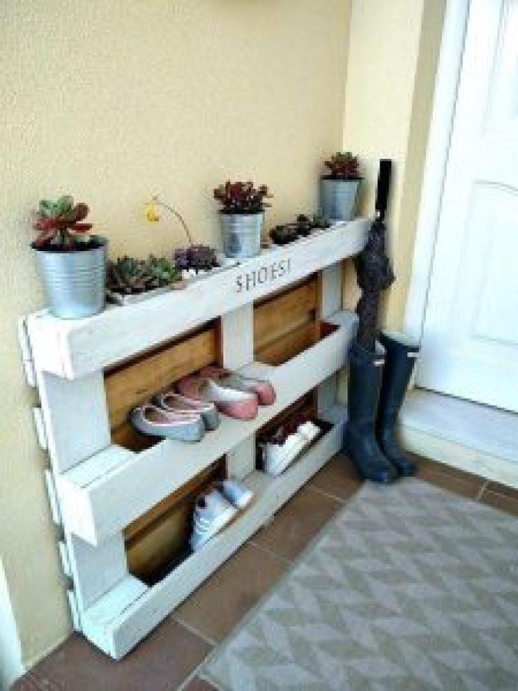 Spectacular wall mounted shoe rack #shoestorageideas #shoerack #shoeorganizer