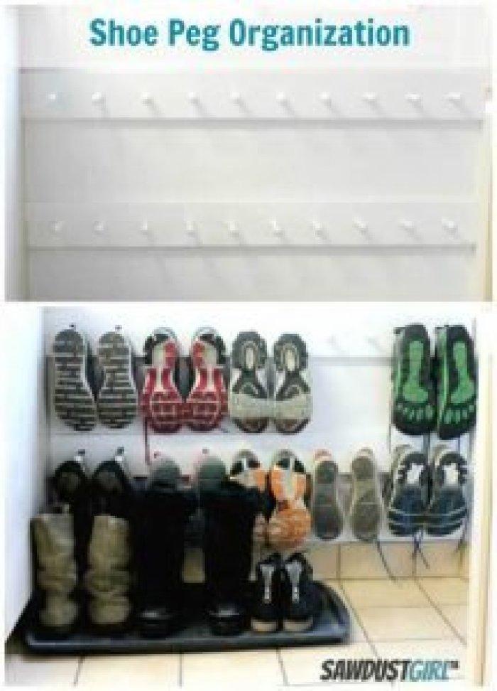 Epic shoe storage bench #shoestorageideas #shoerack #shoeorganizer