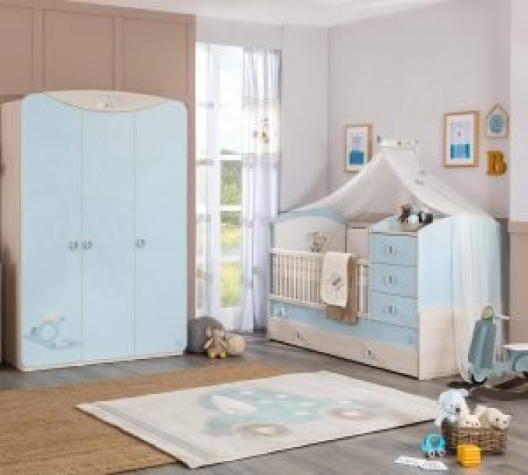 Awesome baby boy and toddler girl shared room ideas #babyboyroomideas #boynurseryideas #cutebabyroom