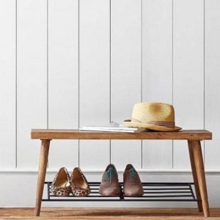 Breathtaking easy shoe storage ideas #shoestorageideas #shoerack #shoeorganizer