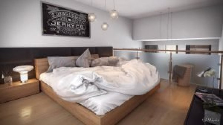 Striking room ideas for attic bedrooms #atticbedroomideas #atticroomideas #loftbedroomideas