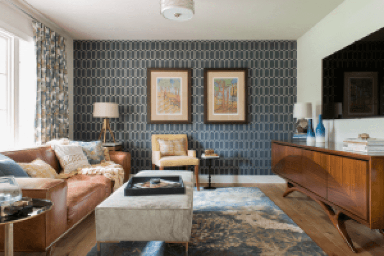 Awesome accent wall ideas for small dining room #accentwallideas #wallpaperideas #wallpaintcolor