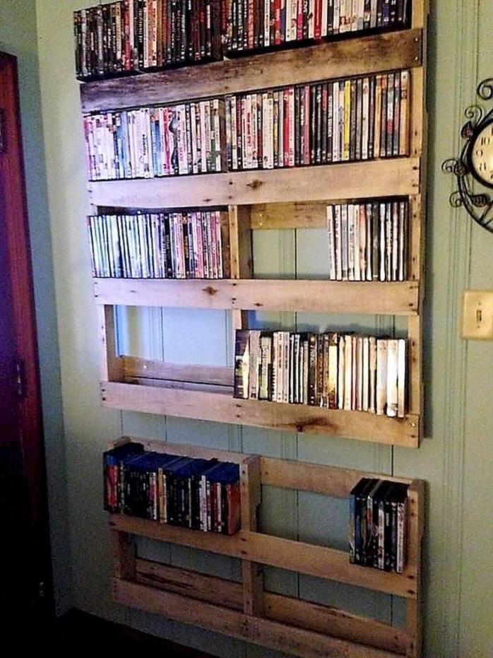 Uplifting cd storage ideas diy #dvdstorageideas #cddvdstorage #dvdrack