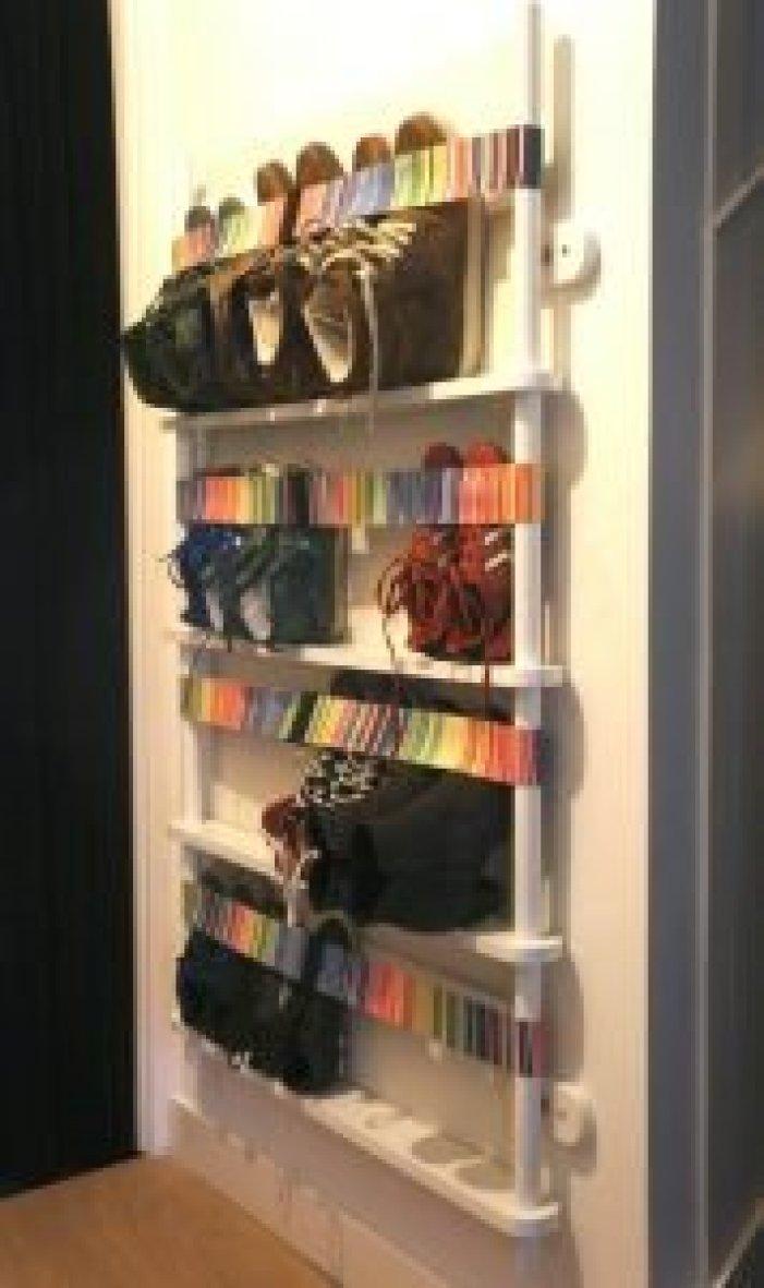 Unbeatable closet shoe rack #shoestorageideas #shoerack #shoeorganizer