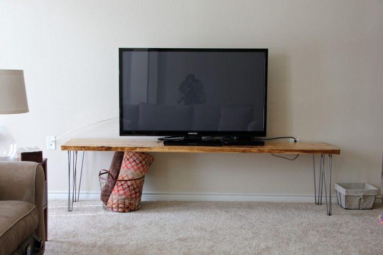 Wonderful easy diy tv stand plans #DIYTVStand #TVStandIdeas #WoodenTVStand