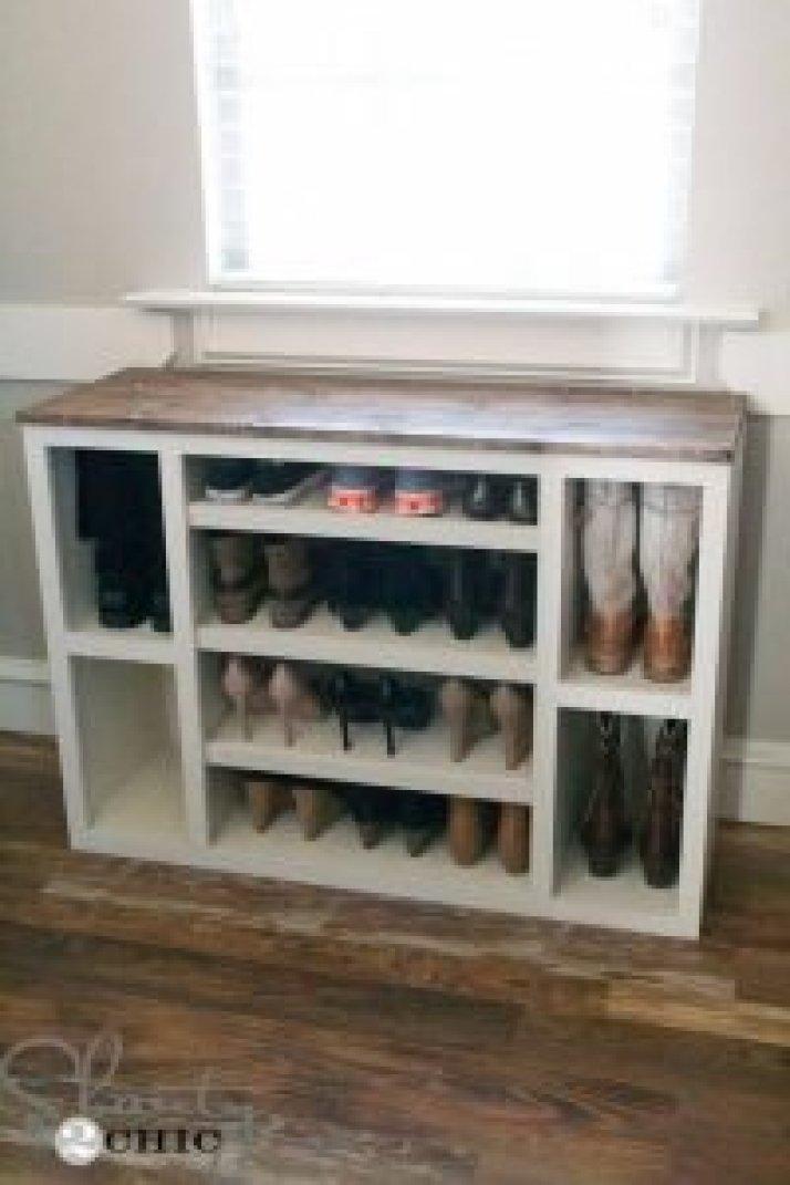 Surprising vintage shoe storage ideas #shoestorageideas #shoerack #shoeorganizer