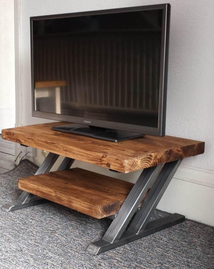 Uplifting diy rustic tv stand plans #DIYTVStand #TVStandIdeas #WoodenTVStand