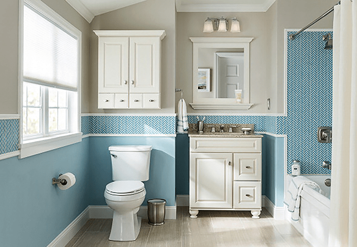 Top Small Bathroom Remodel Design Ideas You Should Copy [Tips ... & 59 Simply Chic Bathroom Tile Ideas For Floor Shower And Wall Design