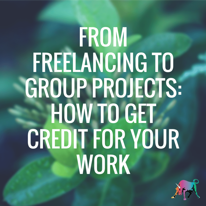 From Freelancing to Group Projects- How
