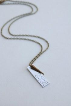 Feminist Unicorn Necklace