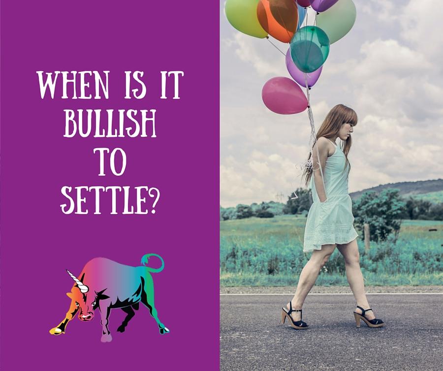 Settle Bullishly