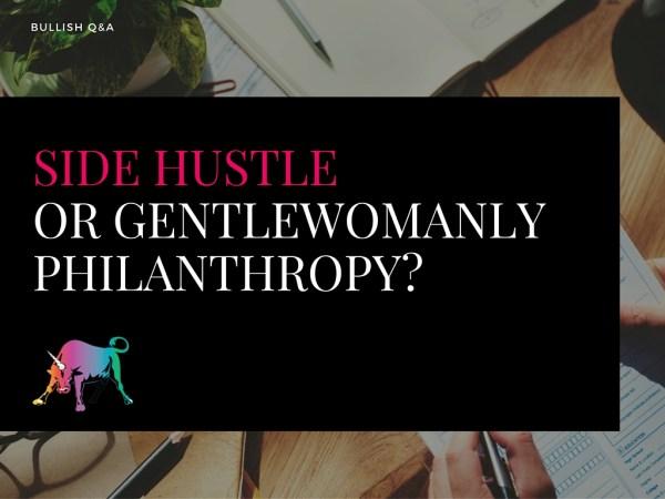 Should you start a side hustle or begin volunteering?