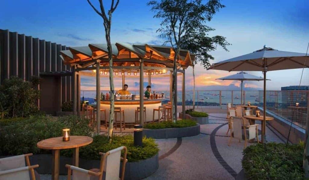 singapore romantic rooftop bar