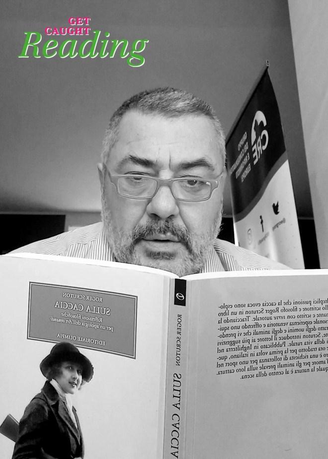Fiocchi Pietro MEP caught reading