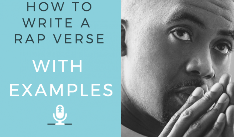 How To Write A Rap Verse