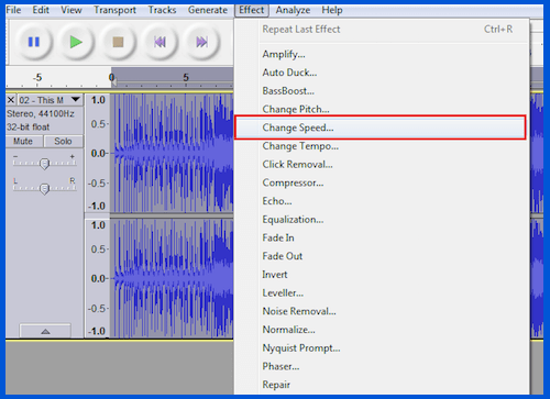 change-speed-of-rap-song-in-audacity