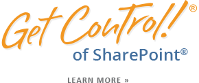 Get Control Of SharePoint® Or Shared Drive Sites Time Management Tips