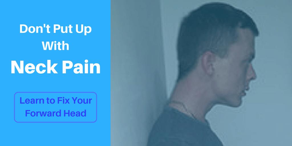 correcting forward head posture get