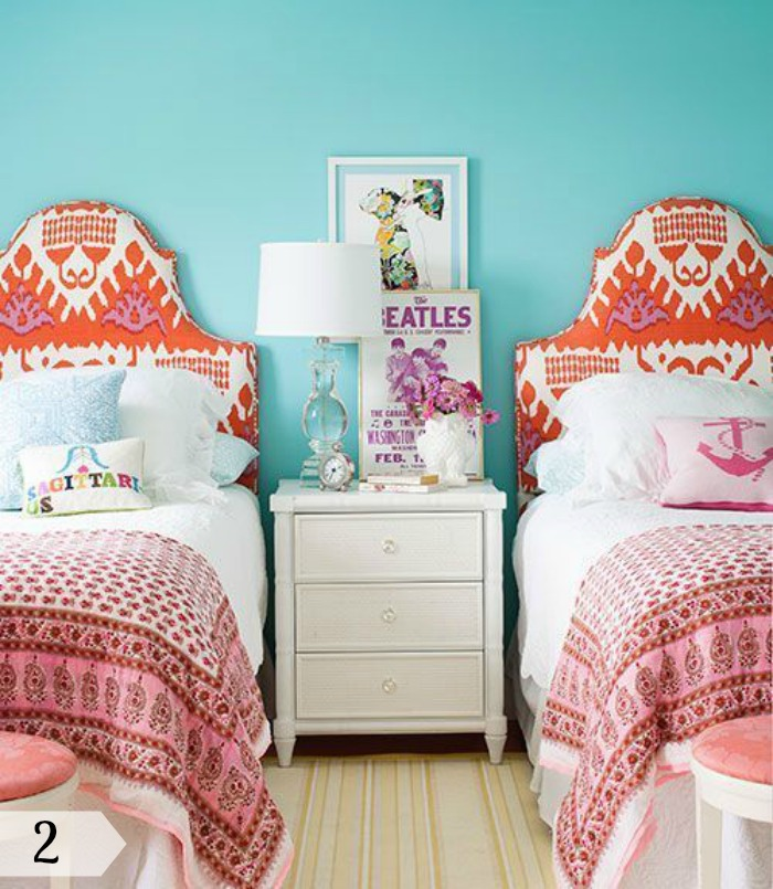 Trending Tuesday: How to decorate shared rooms - Creative ... on Best Rooms For Girls  id=71417